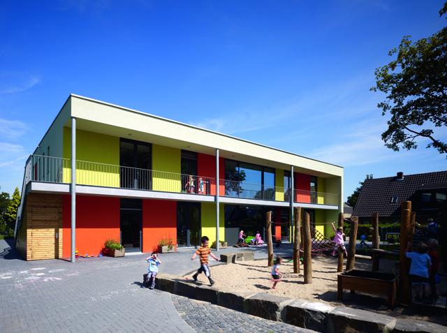 ©brillux 02 Kindertagesstätte Tulpenstraße