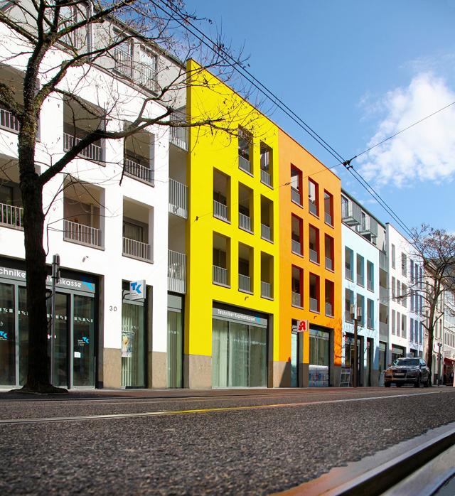 ©neusser bv 03 Wohn- und Geschäftshaus