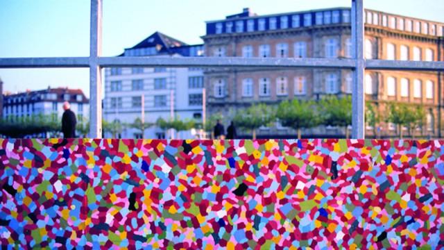 Monumentalgemälde am Burgplatz - Düsseldorf