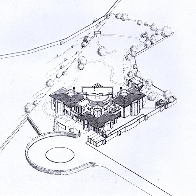 Isometrie - Villa dos Lobos - Carvoeiro