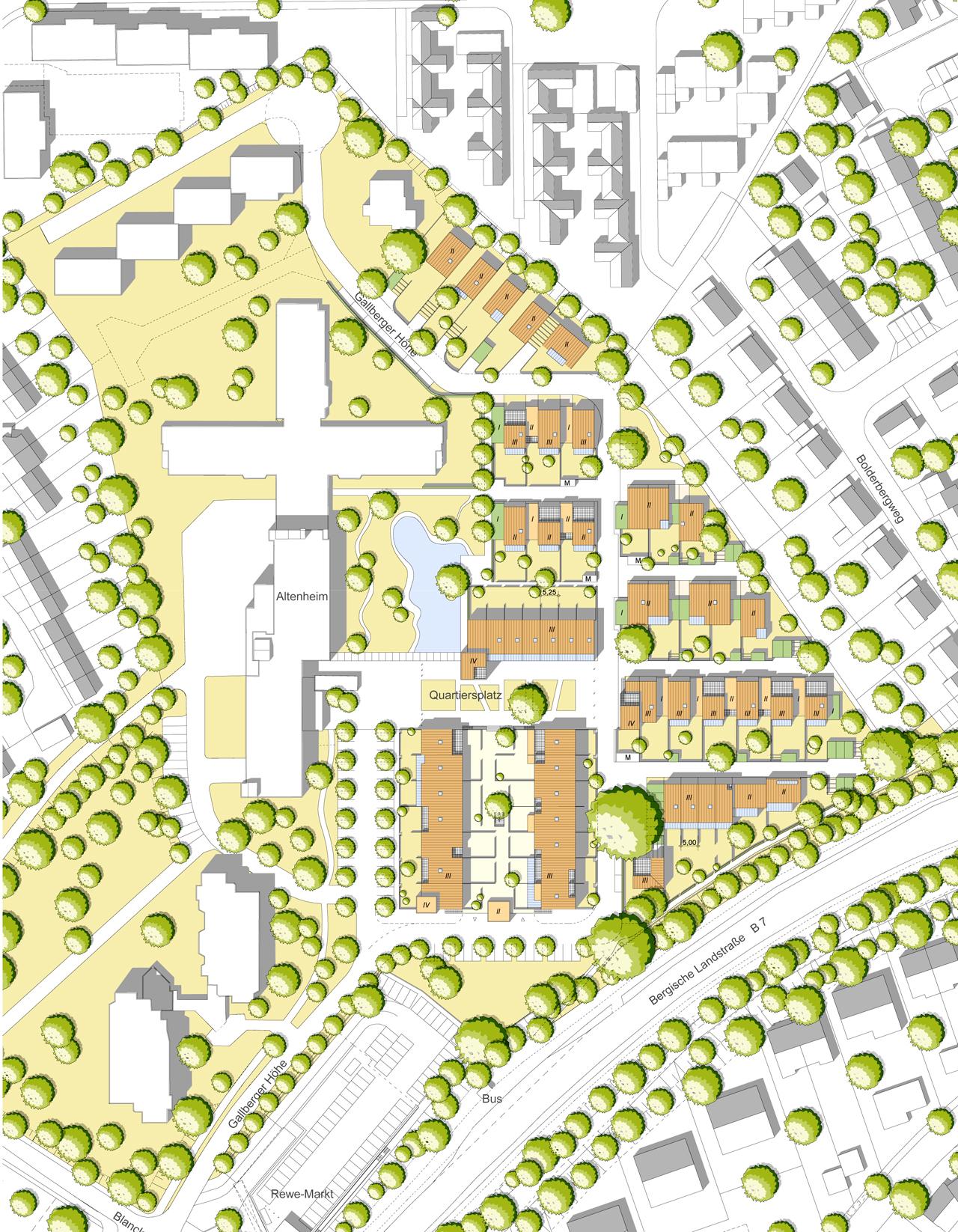 03_Ludenberg - Gallberger Höhe - Lageplan