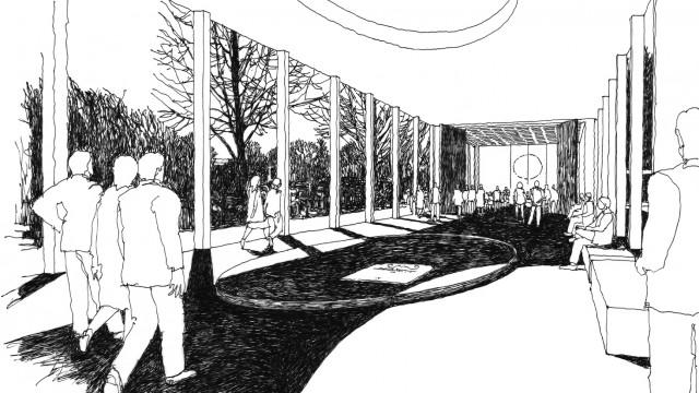 Straelen - Trauerhaus (Wettbewerb)